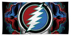 Steal Your Face - Ilustration Beach Towel