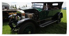 Steam Car Beach Towel