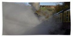 Steam Steam Steam Beach Towel