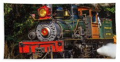 Steam Train Dixiana Beach Towel