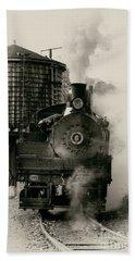 Steam Train Beach Towel by Jerry Fornarotto