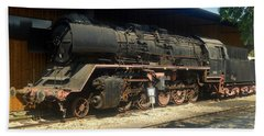 Steam Train  Beach Sheet