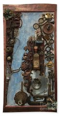 Steampunk 1 Beach Towel