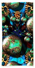 Steampunk Fractal 71216.4 Beach Towel