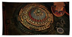 Steampunk Beach Sheet by Louis Ferreira