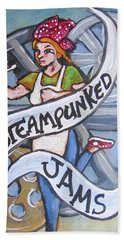 Steampunked Jams Beach Towel