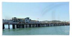 Stearns Wharf 2 Beach Towel