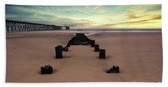 Steetly Pier Beach Towel