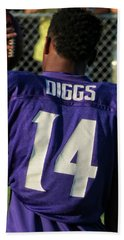 Stefon Diggs Beach Sheet by Kyle West
