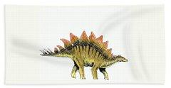 Stegosaurus Beach Towel