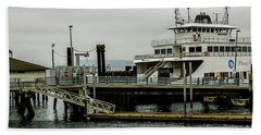 Steilacoom Ferry,washington State Beach Towel