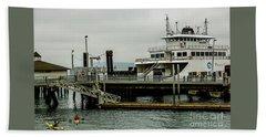 Steilacoom Ferry,washington State Beach Sheet
