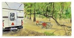 Stephen C. Foster Campground  Beach Towel