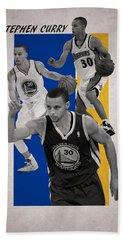 Stephen Curry Golden State Warriors Beach Towel