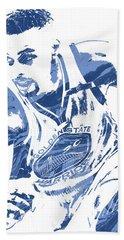 Stephen Curry Golden State Warriors Pixel Art 8 Beach Towel