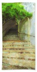 Steps To La Villita Beach Sheet