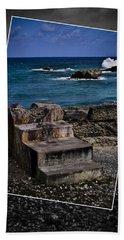 Steps To The Ocean2 Beach Towel