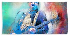 Steve Lukather 01 Beach Towel