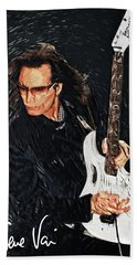 Steve Vai Beach Towel
