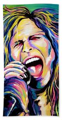 Steven Tyler Beach Sheet by Amy Belonio