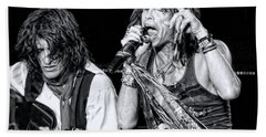 Steven Tyler Croons Beach Sheet
