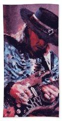 Stevie Ray Vaughan - 25 Beach Towel
