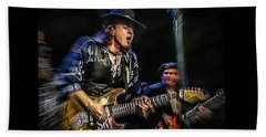 Stevie Ray Vaughan - Couldn't Stand The Weather Beach Towel