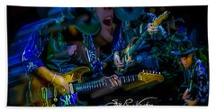 Stevie Ray Vaughan - Double Trouble Beach Sheet