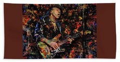 Stevie Ray Vaughan Beach Sheet