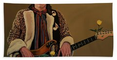 Stevie Ray Vaughan 2 Beach Towel
