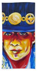 Stevie Ray Vaughan Beach Towel