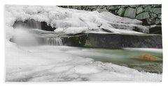 Stickney Brook Falls Beach Towel
