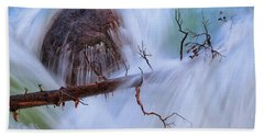 Beach Towel featuring the photograph Sticks And Stones by Rick Furmanek