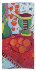 Still Life After Matisse Beach Towel