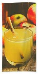 Still Life Apple Cider Beverage Beach Towel by Jorgo Photography - Wall Art Gallery
