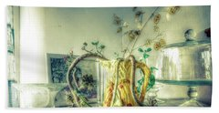 Beach Towel featuring the photograph Still, Life Goes On by Wayne Sherriff
