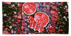 Still Life. The Taste Of Summer. Beach Towel