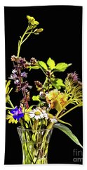 Still Life With Flowers Paint Beach Towel