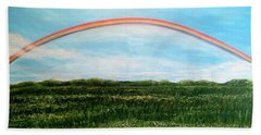 Still Searching For Somewhere Over The Rainbow? Beach Towel