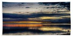 Still Sunset Beach Sheet by Doug Long