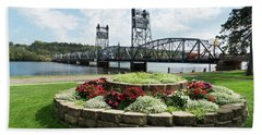 Stillwater And The Mississippi Beach Towel