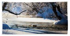 Stillwater Winter Beach Sheet