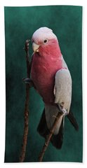 Stiltwalker - Roseate Cockatoo Beach Towel