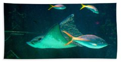 Sting Ray Beach Towel