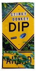 Stinky Donkey Dip St. John Usvi Beach Towel