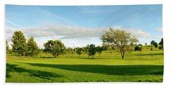 Stirling Golf Club 14th Beach Towel by Jan W Faul