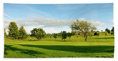 Stirling Golf Club 14th Beach Sheet by Jan W Faul