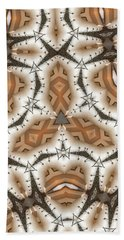 Beach Sheet featuring the digital art Stitched 2 by Ron Bissett