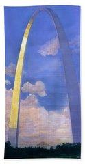 St.louis Gateway Arch Beach Towel