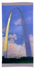 St.louis Gateway Arch Beach Towel